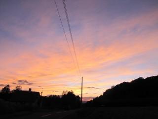 2010-09-24、夕暮れ